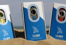 SailKey - Portachiavi in vela / Portachiavi in vela riciclata - Recycled sail keyrings // www.bolinasail.it // Made in Italy