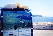 Aqua Sport Evasion / Stand Up Paddle et Kayak de Mer