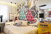 Teenager bedroom - Dormitório jovem