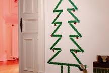 Christmas trees / Des sapins sous toutes leurs formes