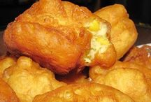 South African vetkoek ( fried bread)