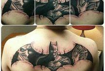 batman tetoválás