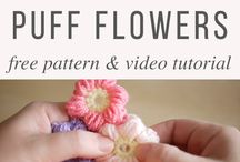 flowers puff