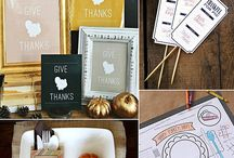Holiday: Thanksgiving / Holiday ideas for Thanksgiving / by Erin Hallmark