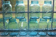 Decorating: Jars, Bottles, & Cans / by Rita Mercer
