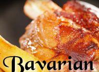 Bavarian Food / La cucina bavarese è caratterizzata dalla sua fedeltà alla tradizione regionale e dalla sua grande originalità. Il menù messo a punto dal nostro chef è un ottimo spunto per sapere di più sui sapori, sulle bevande di questa cucina.  I vini che accompagneranno questa meravigliosa degustazione sono prodotti biologici dell'azienda vinicola Serafini & Vidotto. E se vi viene l'acquolina in bocca… prenotate il vostro tavolo