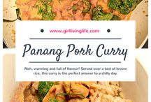 Curry Recipes / Curry recipes ranging from green curry, panang curry, red curry, and more!