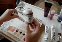 Art Journal - Tutorials / Instructions and videos on completing journal pages.... oooh arty!