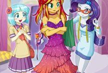 Equestrian Girls Arts