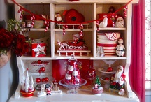 CANDY CANE LANE / Candy canes and Santa mugs two of my favourite .
