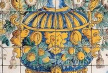 Azulejos e amarelejos  portugueses
