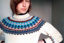 Skandinavisk mønsterstrik - Scandinavian stranded knitting