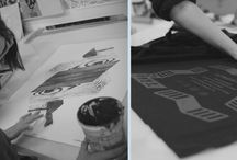 Screenprinting / Screenprint workplaces