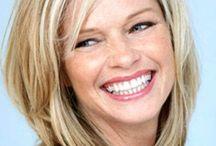 Med length hairstyles for oval face shape (Charlene)