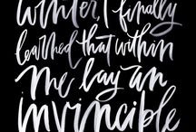 Calligraphy | Handlettering