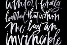 Calligraphy | Handlettering