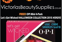 Free OPI - Mini 4-Pack Let's Get Wicked HALLOWEEN COLLECTION 2015 #SRG92 / Free OPI - Mini 4-Pack Let's Get Wicked HALLOWEEN COLLECTION 2015 #SRG92