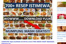 kumpulan Ebook Resep Masakan