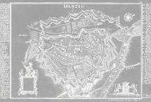 Mapa Gdanska czb