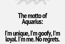 I'm an aquarius