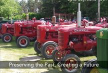 2015 Tractor Trek / This fundraising event is held in conjunction with Eden Foundation, the proceeds are divided between MHV and Eden Foundation. Drivers register their 50 year old tractors and join us in an all day event driving through the country-side to various towns as pre-determined by a committee.