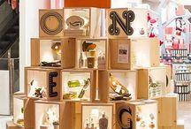 Shop display boxes