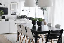 Interiors - Dining/Living
