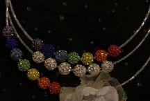 Handmade by Judi Art / Glass jewerly