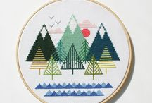 Needlecraftin / Cross stitch and embroidery