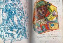 Sketchbook for school