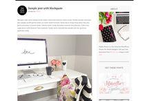 Blogging Wordpress Themes / Wordpress themes that I like