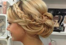Beautiful hairstyles with plaits!!! / Our stunning Erma and Mae comb will look fabulous worn in these hairstyles with plaits!!!