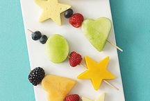 preschool snack ideas - 4 year olds / by Leslie Golson