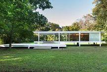 Mies van der Rohe / Niemiecki architekt urodził się w 1886 roku w Akwizgranie, zmarł w 1969 w Chicago