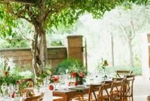 ORGANIC & SUSTAINABLE WEDDINGS & PARTIES / Venues, paper goods, cakes, food, drink...  those offering organic and sustainable products and services.