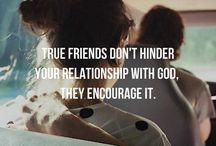 Godly friendships