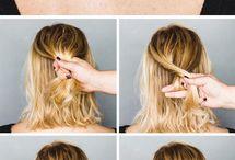 Frisuren (schnell)