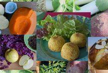 MES RECETTES VÉGÉTARIENNES / Plats et menus végétariens de mon blog sans poisson ni viande