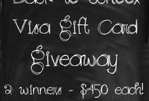 giveaways and sweepstakes / by Tara Dara - DIY'n to keep you stylin