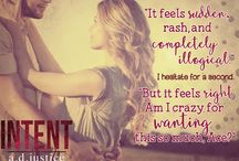 Intent / A full-length stand-alone romance novel