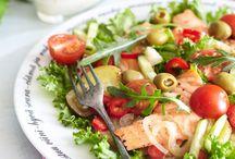 lounasruokien valmistus / reseptejä