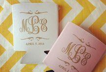 Wedding koozies / by Paige Nortman