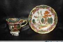 chinees en japans porcelein