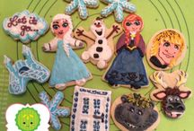 Sweet Pickles / Sugar Cookies I've made.