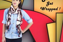 Scarf From Get Wrapped / #scarf #nijab #Kremer #muffler #neckwrap #necktie #Croat