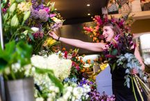 Flowers & Scents / Inspired by the beautiful flower displays/arrangements and natural scents offered by stores at Milsom Place.