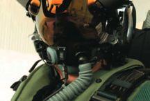 casque de pilote de chasse