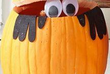 Dynie na Hallowen
