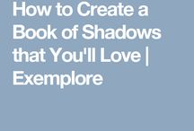 Book of shadows/ grimoire