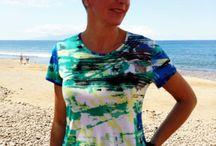 Top y camisetas tonalidad verde/azul / Top y camisetas para mujer disponibles en todas las tallas de S a 3XL